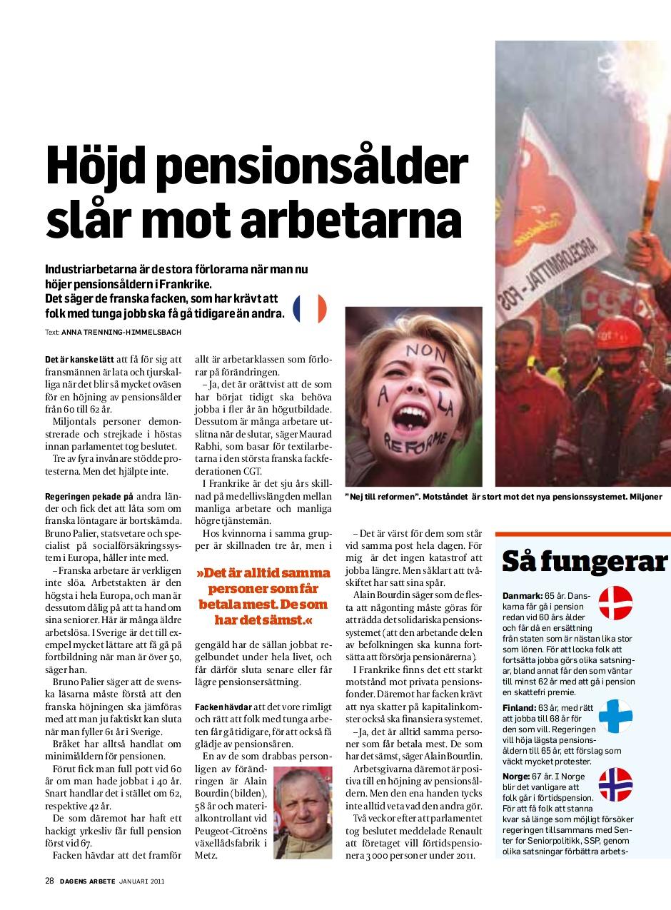 Pensionsalder ska utredas